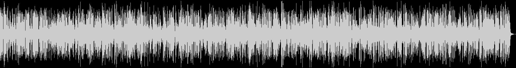 カフェBGMおしゃれなジャズピアノの未再生の波形