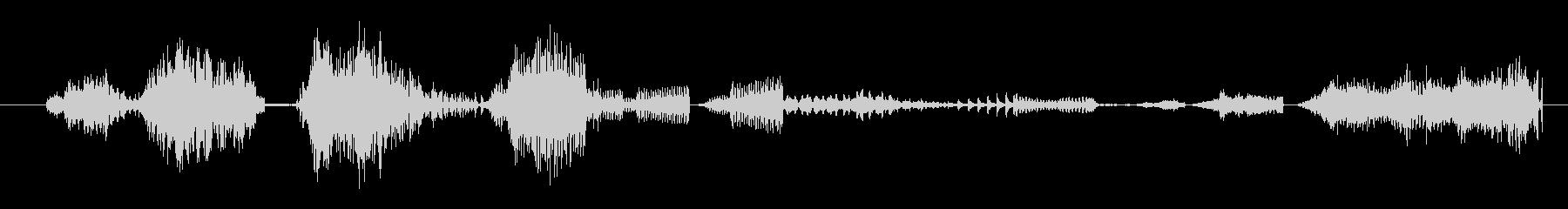 イメージ ボーカルグリッチ04の未再生の波形