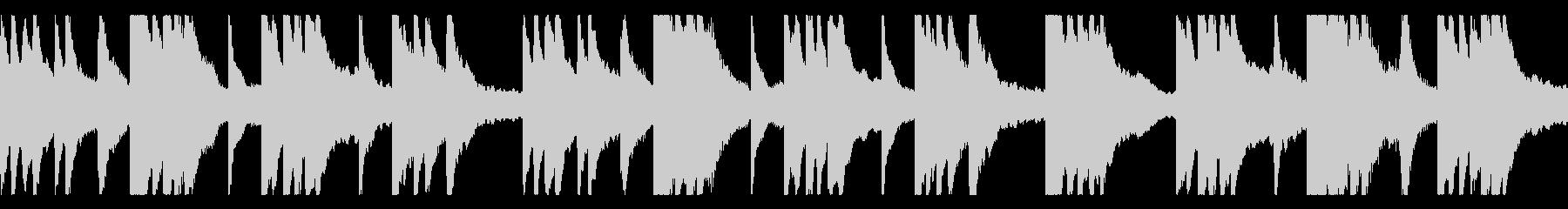 しっとりスローな癒しのピアノソロの未再生の波形