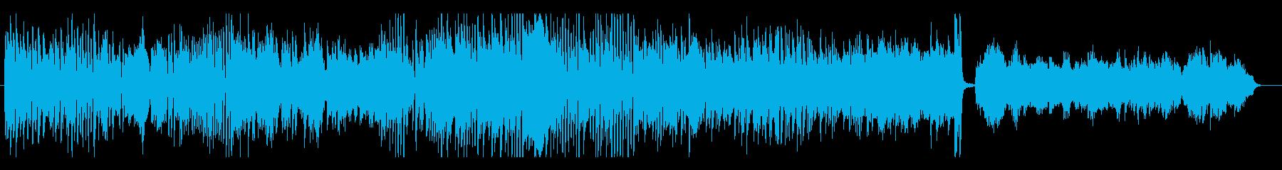 リズミカルでパワフルなピアノ曲の再生済みの波形
