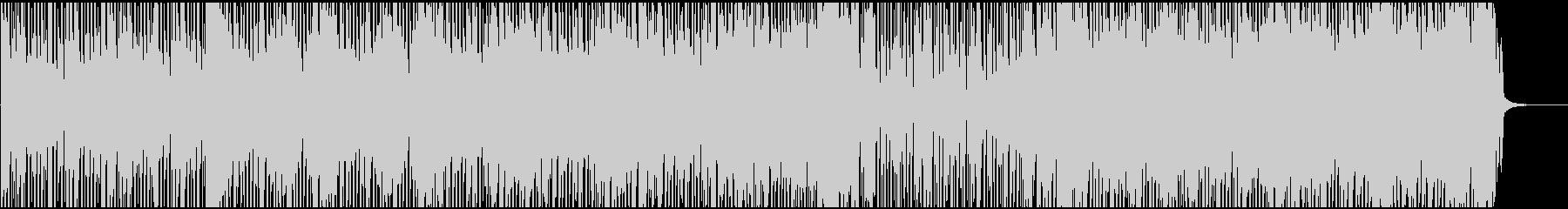 躍動感のあるレトロFunk/Discoの未再生の波形