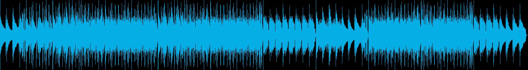 ピアノの音が淡い夜を想像させるチルアウトの再生済みの波形