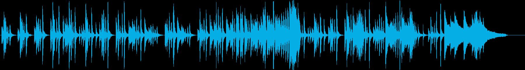 どうぶつの森・あつ森風かわいいピアノソロの再生済みの波形