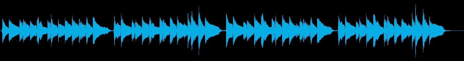 蛍の光 優しいアコギの再生済みの波形