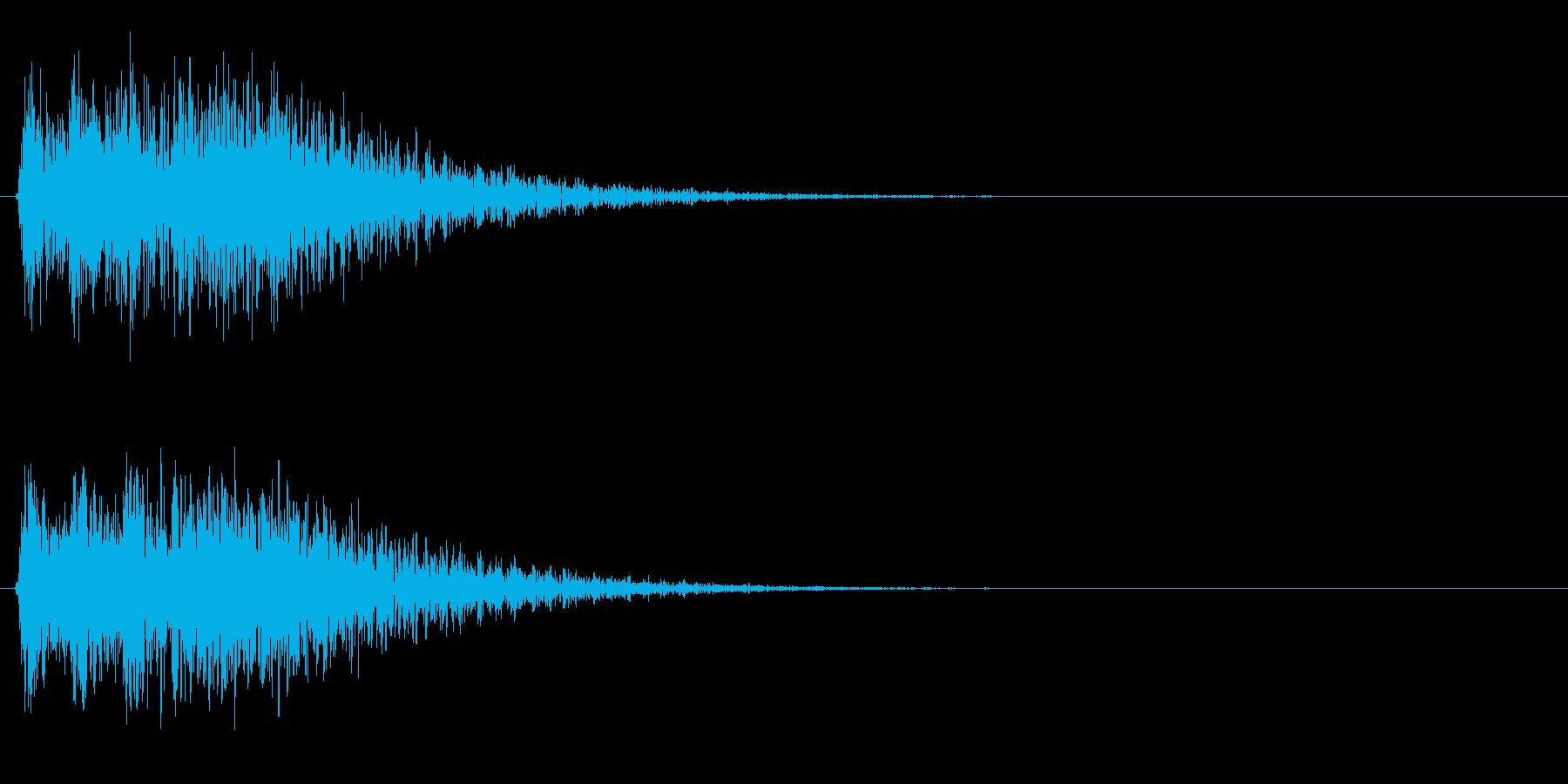 未来的・決定・選択・空気感・効果音20の再生済みの波形