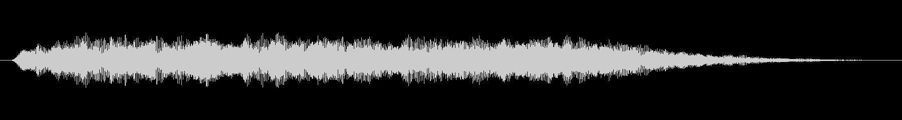 緊張 鬼合唱団ワン・ノート・ロー01の未再生の波形