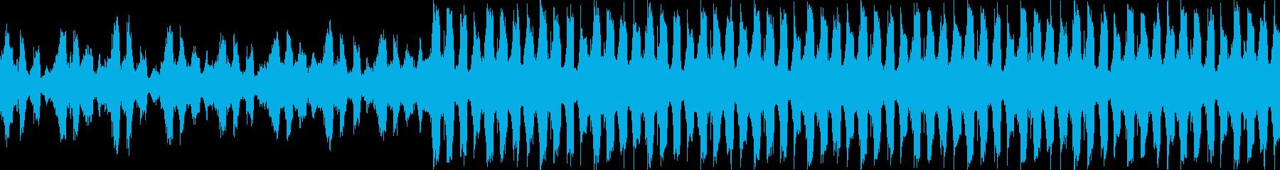 VP、CM、クールで穏やか透明感ループcの再生済みの波形