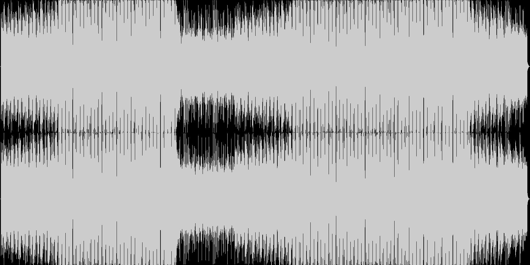 まったりとした和風フューチャーベース☆彡の未再生の波形