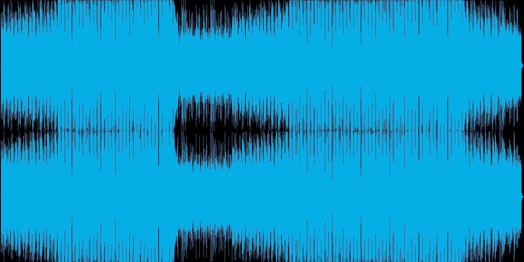 まったりとした和風フューチャーベース☆彡の再生済みの波形