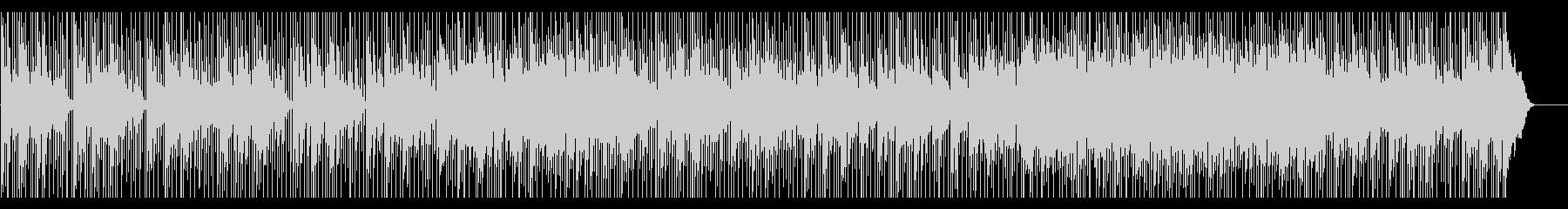 ゆったりした和の空間をイメージした楽曲の未再生の波形