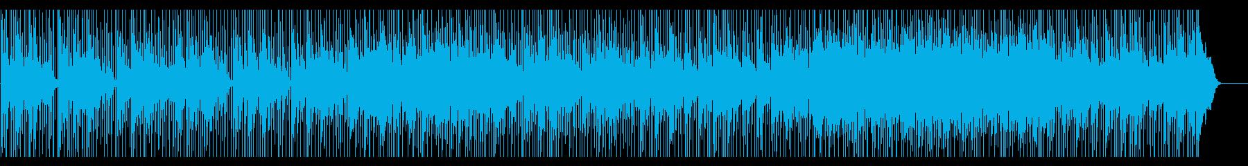 ゆったりした和の空間をイメージした楽曲の再生済みの波形