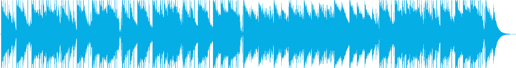 しっとりと落ち着いた雰囲気のチルウェイヴの再生済みの波形