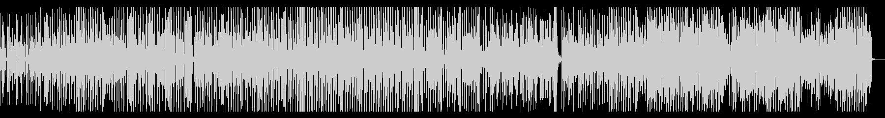 ギター ファンキー テクノ EDMの未再生の波形