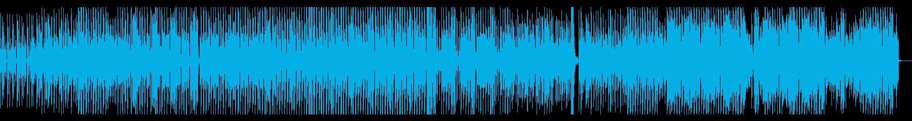 ギター ファンキー テクノ EDMの再生済みの波形