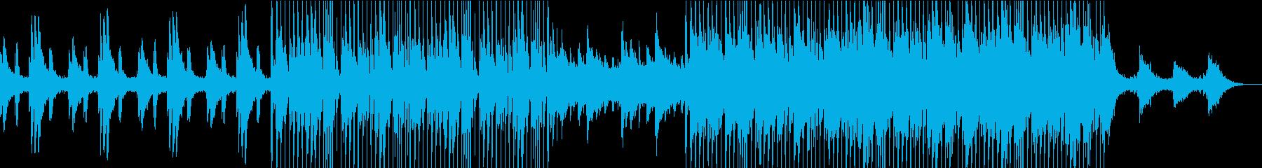 シルキーで滑らかで暖かいチルアウトの再生済みの波形
