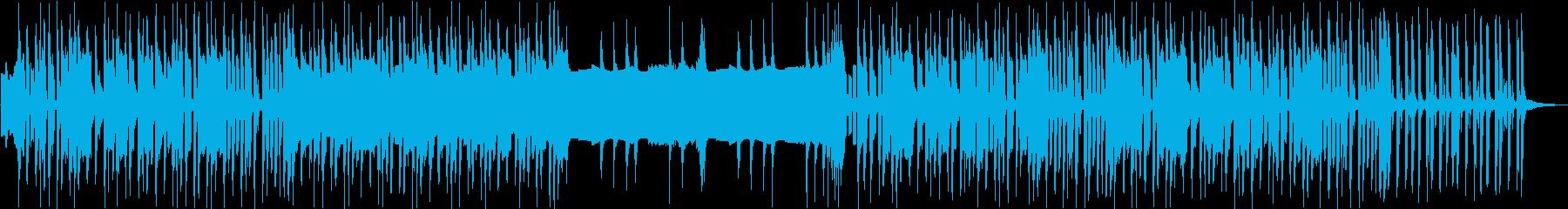 カッコいい8bitチューンの再生済みの波形