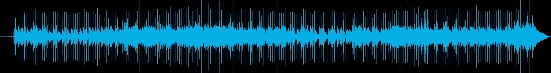 スローポップの再生済みの波形