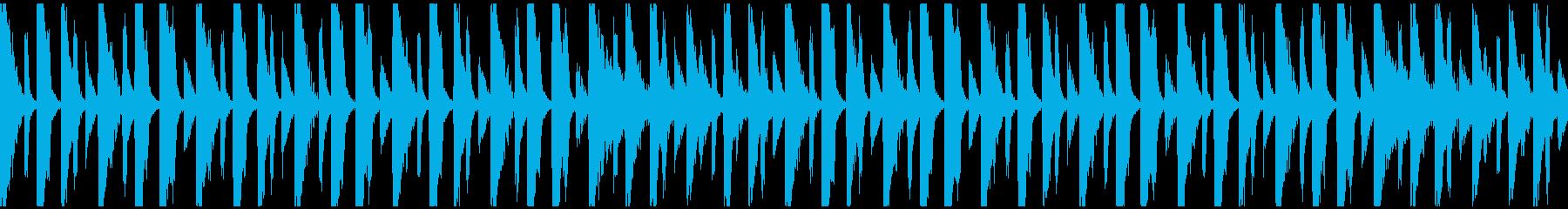 【ループ】レース3位以下のリザルトBGMの再生済みの波形