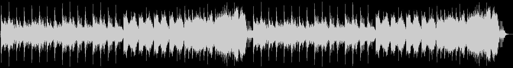 中世の不穏なゴシック曲の未再生の波形