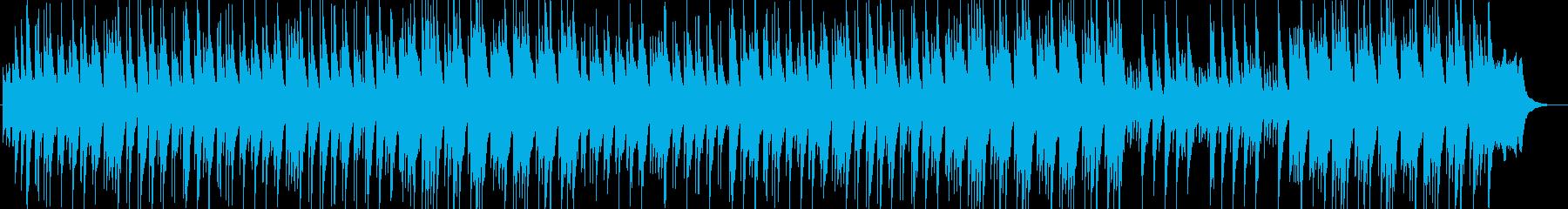 優しく美しいシンセ・ピアノサウンドの再生済みの波形