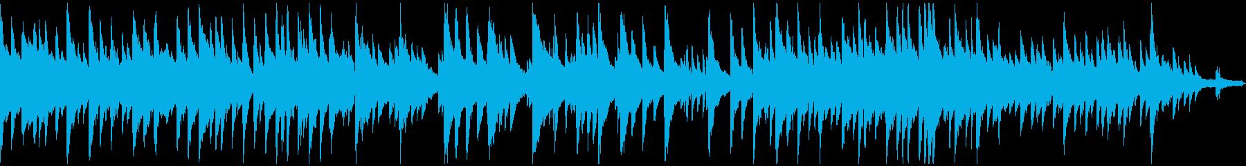 穏やかで温かいピアノ/ゲーム映像/M15の再生済みの波形