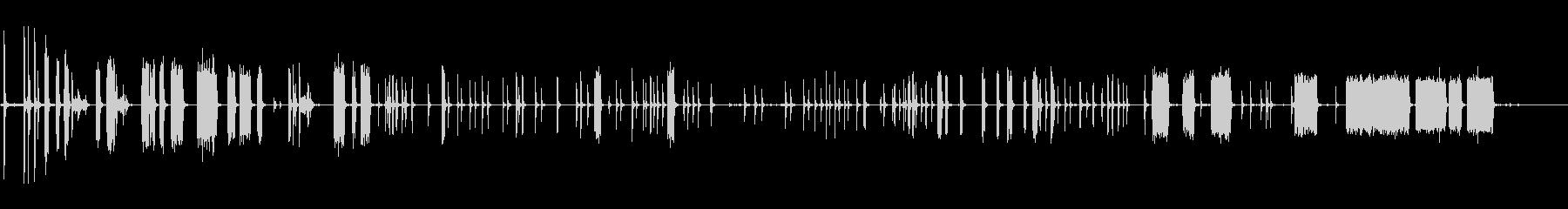 カーソレノイドザップ;短いと長いの未再生の波形