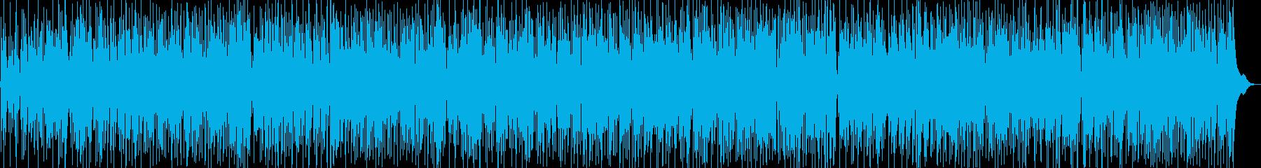 ハッピー感あふれる軽快なスカビートの再生済みの波形