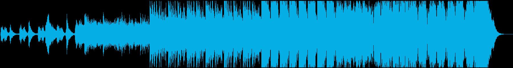 重厚でシネマティックなエピックトレーラーの再生済みの波形