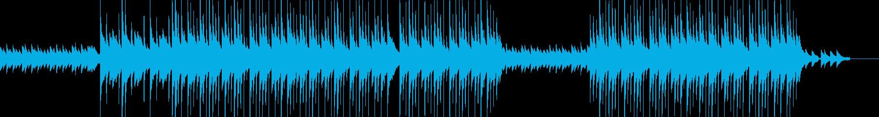 和風で落ち着きのある曲です。日本の森な…の再生済みの波形