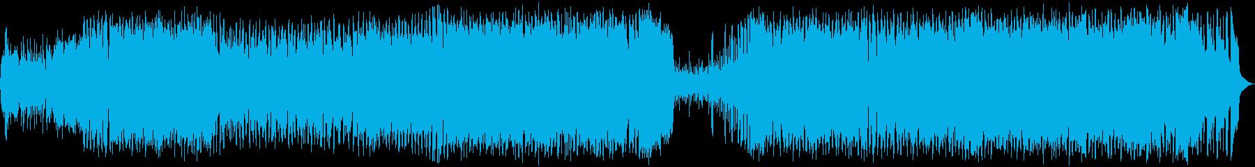 かわいらしく楽しいユーロビートの再生済みの波形