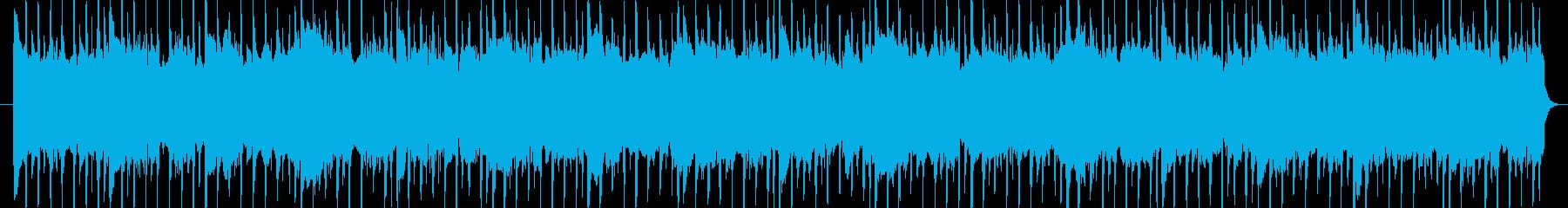 ベースリフで緊張感のあるハウスの再生済みの波形