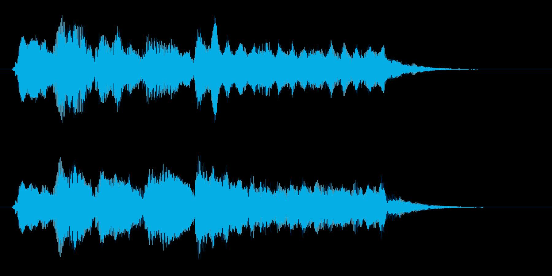 ゲームオーバー 安らぎの再生済みの波形