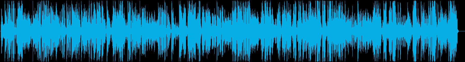 クラシックお洒落ジャズピアノ軽快サックスの再生済みの波形