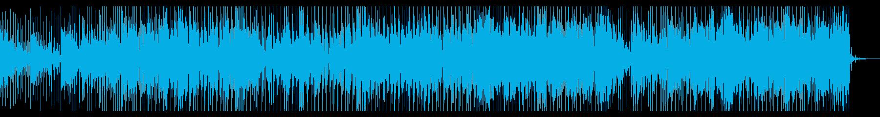 ほのぼのする気分の良くなる感じのBGMの再生済みの波形