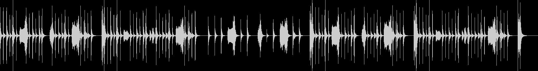 ほのぼの・小動物等 弦のピチカートと木管の未再生の波形