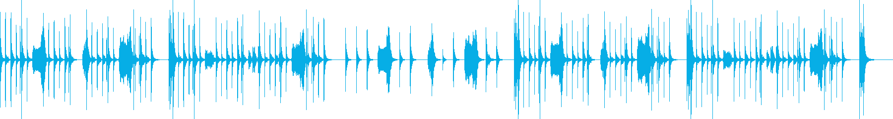ほのぼの・小動物等 弦のピチカートと木管の再生済みの波形