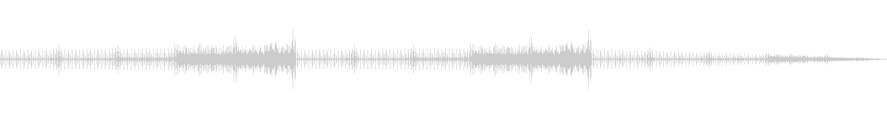 【CM・PV用】明るいテクノ系サウンドの未再生の波形