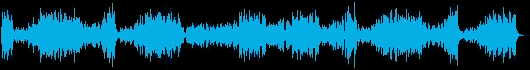 運動会に使われるクラシックの行進曲の再生済みの波形