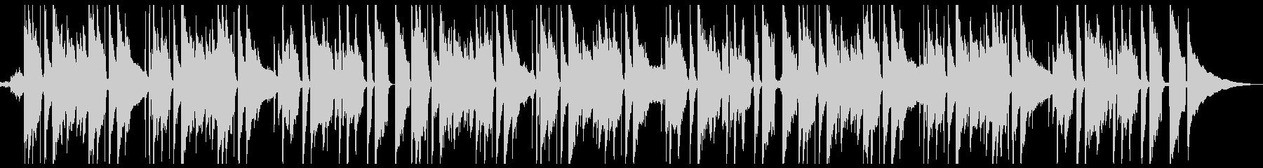 ゆったりとしたギターサウンドの未再生の波形
