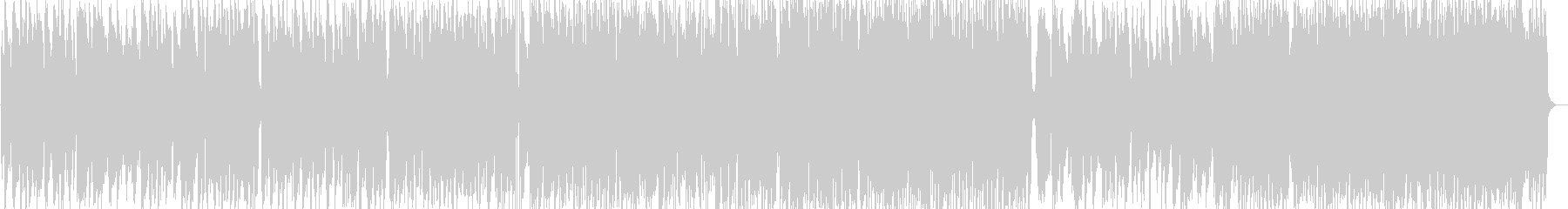 ショパンのジャズピアノトリオの未再生の波形
