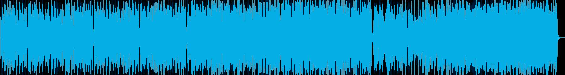 ショパンのジャズピアノトリオの再生済みの波形