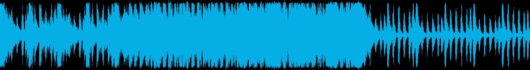 戦国の壮絶バトル和風オーケストラ ループの再生済みの波形