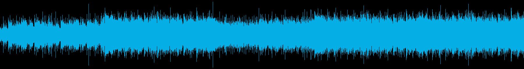 穏やかな企業VP・ほのぼのアコギ曲の再生済みの波形