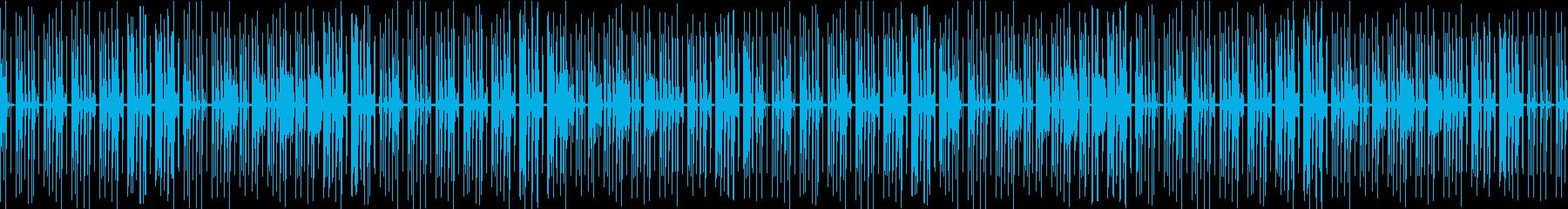 日常・ループ・優しい・ゲームの再生済みの波形