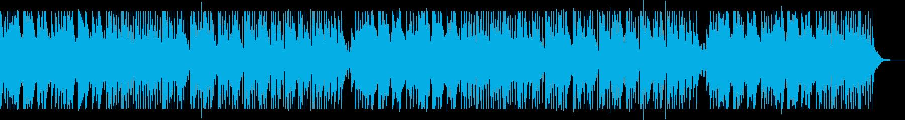 中国の伝統的打弦楽器の揚琴を使用した楽曲の再生済みの波形