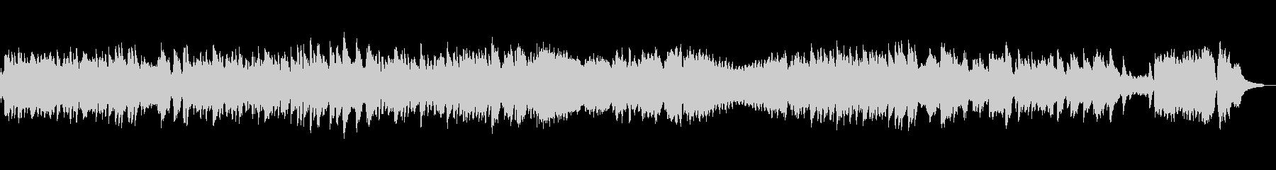 エチュード作品10-8 オルゴールverの未再生の波形