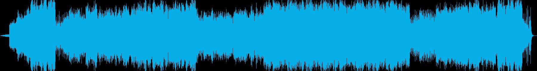 ワルツオーケストラ舞踏会企業VP映像の再生済みの波形