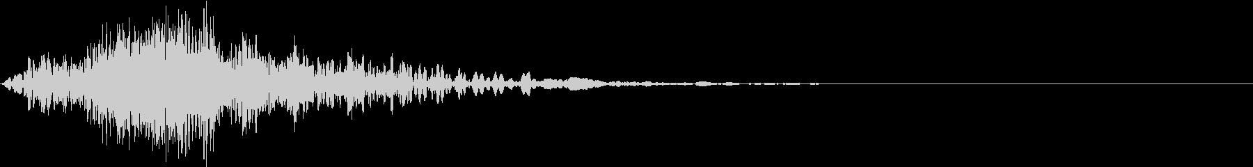 シューッという音EC07_87_3の未再生の波形