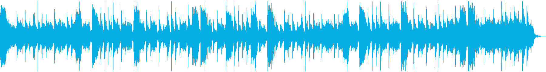【CM】クールなエレクトロBGM・6の再生済みの波形