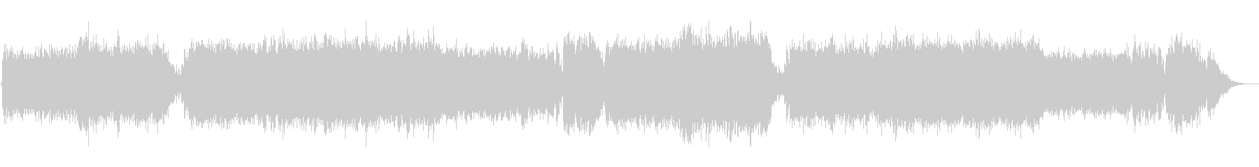 ハロウィン/クリスマス系怪しい雰囲気の曲の未再生の波形